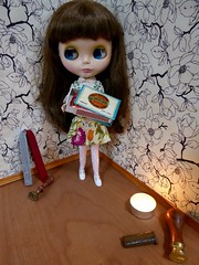 BaD June 26 - You can't start a fire without a spark (lyndell23) Tags: blythe blythedoll ablytheaday welcomewinterblythe