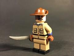 Teddy Roosevelt (TheBrickBrewer) Tags: usa america us lego teddy fig united mini roosevelt figure states minifig custom theodore minifigure