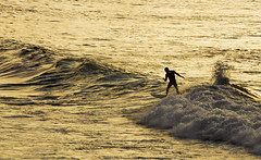 Surf (David S. Daz) Tags: sunset atardecer mar surf asturias deporte gijon olas tabla