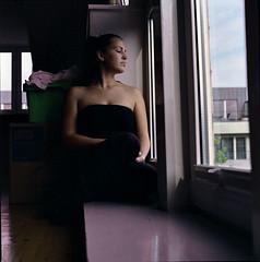 Anna (Juliet Alpha November) Tags: portrait 120 6x6 film home analog fuji jan portrt pro medium format analogue rollfilm fujicolor mittelformat meifert 160ns homeshooting