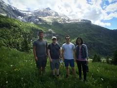 Jarosz Lab dans les Alpes