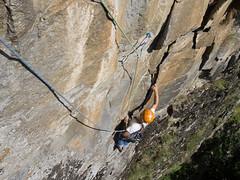 P7031901 (diegobracco) Tags: gianluca arrampicata bourcet multipitch urlodimunch