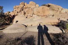 Hidden Valley Shadows (Sam Howzit) Tags: california shadow silhouette nationalpark desert katie joshuatree joshuatreenationalpark samhowzit