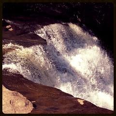 Muddy Creek Falls ~ the edge squared (karma (Karen)) Tags: light motion rocks shadows maryland waterfalls squared muddycreek garrettco mdstateparks swallowfallssp