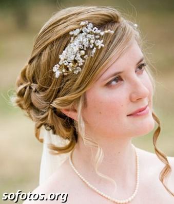 Penteados para noiva 186