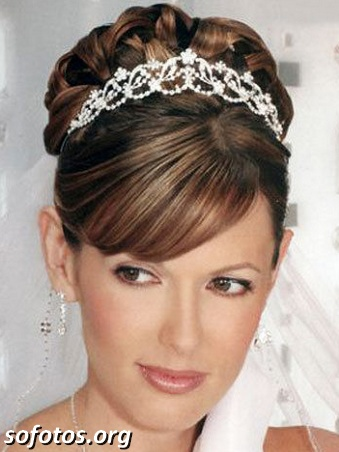 Penteados para noiva 172