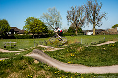 Katy Curd (Jon Ashelford) Tags: mountain bike bicycle rose jump jon track tour katy bikes pump mtb pro jonny curd corsham 4x ashelford