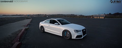 TAG_RS5_18Apr2013_11 (ronnierenaldi.com) Tags: ocean auto california sunset white cars beach car photography photo moving san photoshoot photos pics euro wheels picture diego pic automotive socal german audi panning coupe rolling motorsport s5 eurocar rs5 adv1