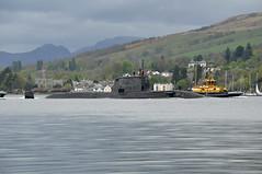 HMS Ambush (Shug linergts) Tags: gare navy royal nuclear submarine loch fleet ambush hms astuteclass