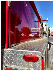 Fire Engine Red (IamJomo) Tags: fire camera iphone silverspring iphone5 takenwithaniphone jomo maryland iphoneography