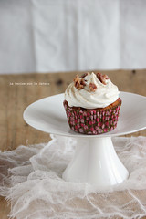 minicakes030 (la cerise sur le gteau) Tags: food cooking cake photography baking patisserie cupcake pastry muffin pecan carrotcake topping gteau