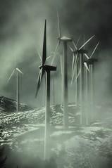 Niebla (Jesus Castaeda del Moral) Tags: niebla molinos energia eolica eolo