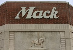 Mack (GwenDeanne) Tags: sign truck canon store colorado denver bulldog business mack 2013 40d