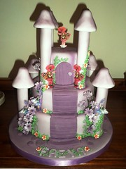 OLYMPUS DIGITAL CAMERA (truly scrumptious cakes by Lynn) Tags: castle cake fairy tale