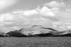 Ben Lomand in black and white (Jimblim) Tags: scotland lochlomond
