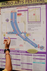 Navigating (radargeek) Tags: city oklahoma festival map district arts paseo okc ok 2013