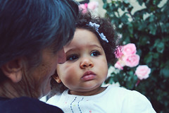 Love (Marta.Michelangeli) Tags: life flowers baby cute girl beautiful canon eyes child lips curly eos1100d
