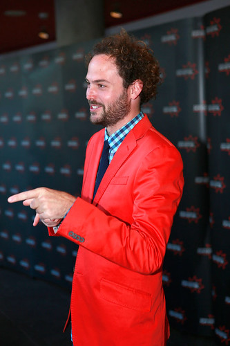Drake Doremus at the European premiere of Breathe In at Festival Theatre