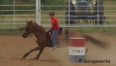 DSC00163a (Garagewerks) Tags: horse oklahoma sport race america cowboy child country barrel american rodeo cowgirl countryliving barrelracing barrelrace