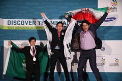 WSC2013_MEDIALISTS_MM (674) (WorldSkills) Tags: iran korea leipzig webdesign competitor worldskills medalwinner macaochina wsc2013 chonsengche hadimostafapour yongkucho