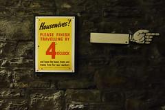 Housewives Home Before 4 (christopher_brown) Tags: travel wales propaganda wwii cymru cardiff worldwarii caerdydd posters glamorgan cardiffcastle castellcaerdydd wartunnels