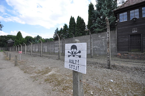 Double-electrified fence - Auschwitz I, From FlickrPhotos