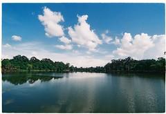 Angkor Wat lake