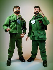 Hasbro G I Joe  Adventure Team  Talking Commander  Hard Hand  2-Pocket & 4-Pocket Version (My Toy Museum) Tags: team hand g hard joe adventure hh talking commander i at