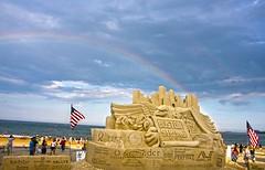 Boston Strong Double Rainbow