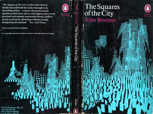 "The Squares of the City by John Brunner. Penguin 1969. Cover artist Franco Grignani • <a style=""font-size:0.8em;"" href=""http://www.flickr.com/photos/75422475@N02/9362372519/"" target=""_blank"">View on Flickr</a>"