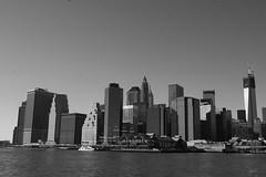 Lower Manhattan (koborin) Tags: nyc newyorkcity travel ny newyork eastriver statuecruises