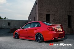 "WORK Emotion XD9 - 18x10 +38 Blue on WRX • <a style=""font-size:0.8em;"" href=""http://www.flickr.com/photos/64399356@N08/9570785949/"" target=""_blank"">View on Flickr</a>"