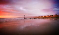 just messing (plot19) Tags: uk sunset wales coast seaside nikon britain colourful beech borth cardiganshire abigfave colorphotoaward fbdg updatecollection plot19