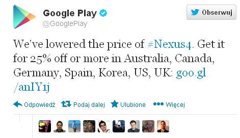 Nexus 4 cheap like borscht. What about Polish? I wish to talk ... - PC World