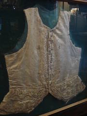 "18TH CENTURY FRENCH WAISTCOAT IN FRAME • <a style=""font-size:0.8em;"" href=""http://www.flickr.com/photos/51721355@N02/9629213073/"" target=""_blank"">View on Flickr</a>"