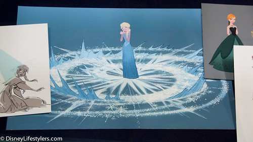 "New Frozen Production Art Inside ""The Mag..."