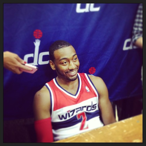 Previously, John Wall C - #Wizards Media Day