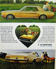 1967 Ford Mustang Coupe, Convertible and GT Fastback (coconv) Tags: pictures auto door old 2 two classic cars ford hardtop car vintage magazine ads advertising cards photo flyer automobile post image photos muscle antique postcard ad picture convertible images advertisement vehicles photographs card photograph postcards 1967 vehicle and autos mustang collectible gt collectors brochure coupe 67 automobiles dealer fastback prestige sportsroof
