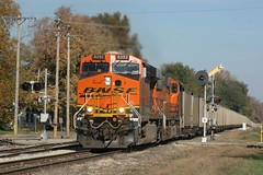 Kincaid Loads (wras23) Tags: illinois springfield bnsf burlingtonnorthernsantafe 6282 es44ac illinoismidland imrr