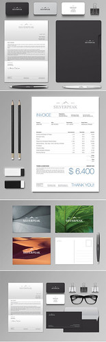 Silverpeak Stationery & Invoice