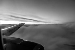 Up above (Steinskog) Tags: sky clouds airplane