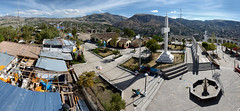 Ayacucho, Carmen Alto (PhotoSphere) (jelbo64) Tags: panorama peru cross pano viewpoint ayacucho photosphere huamanga carmenalto irador