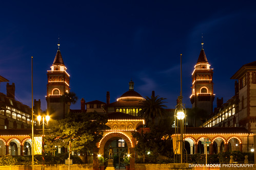 Old Ponce de Leon Hotel now Flagler College, St. Augustine, Florida