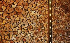 we woz 'ere (helenoftheways) Tags: woods logs woodpile signatures names zizzis strand london uk lights inscriptions