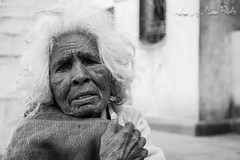 Old woman's expression (EyeEagleEye) Tags: nepal byn gente retratos kathmandu paises