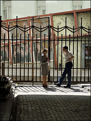 *** (dmitry_ryzhkov) Tags: street city two people woman man colour photography photo shot photos russia shots moscow candid sony documentary social scene society scenes dmitry citizens ryzhkov slta77 dmitryryzhkov dmitryryzhkovcom