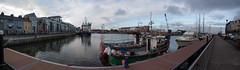 Dock Street (diwan) Tags: city ireland panorama galway docks canon geotagged eos place stitch irland hafen panoramix dockstreet countygalway republicofireland ptgui ire gaillimh 2013 poblachtnahireann canoneos650d geo:lon=9051385 geo:lat=53269679