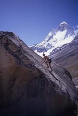 Bouldering, Tapovan (andywalker1) Tags: india bouldering andrewwalker andywalker shivling tapovan