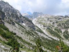 Hike door de Alpen