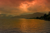 The day is ending (Grisley Two at Ipernity now) Tags: uk sunset night evening scotland highlands cloudy loch lochaber lochlinnhe abigfave blinkagain